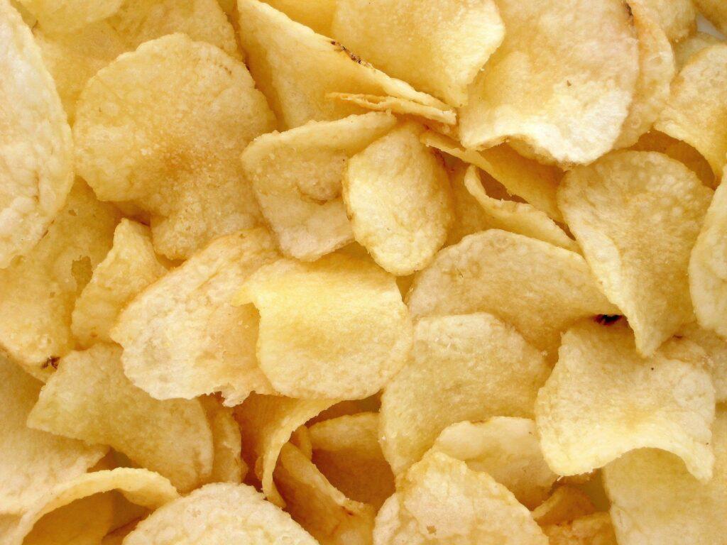 chips snack végétal